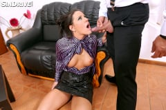 Athina - Taking A Deep Face Fucking Until The Drool Drowns The Scene and Turns A Lady Into A Suck-Luck (Thumb 69)