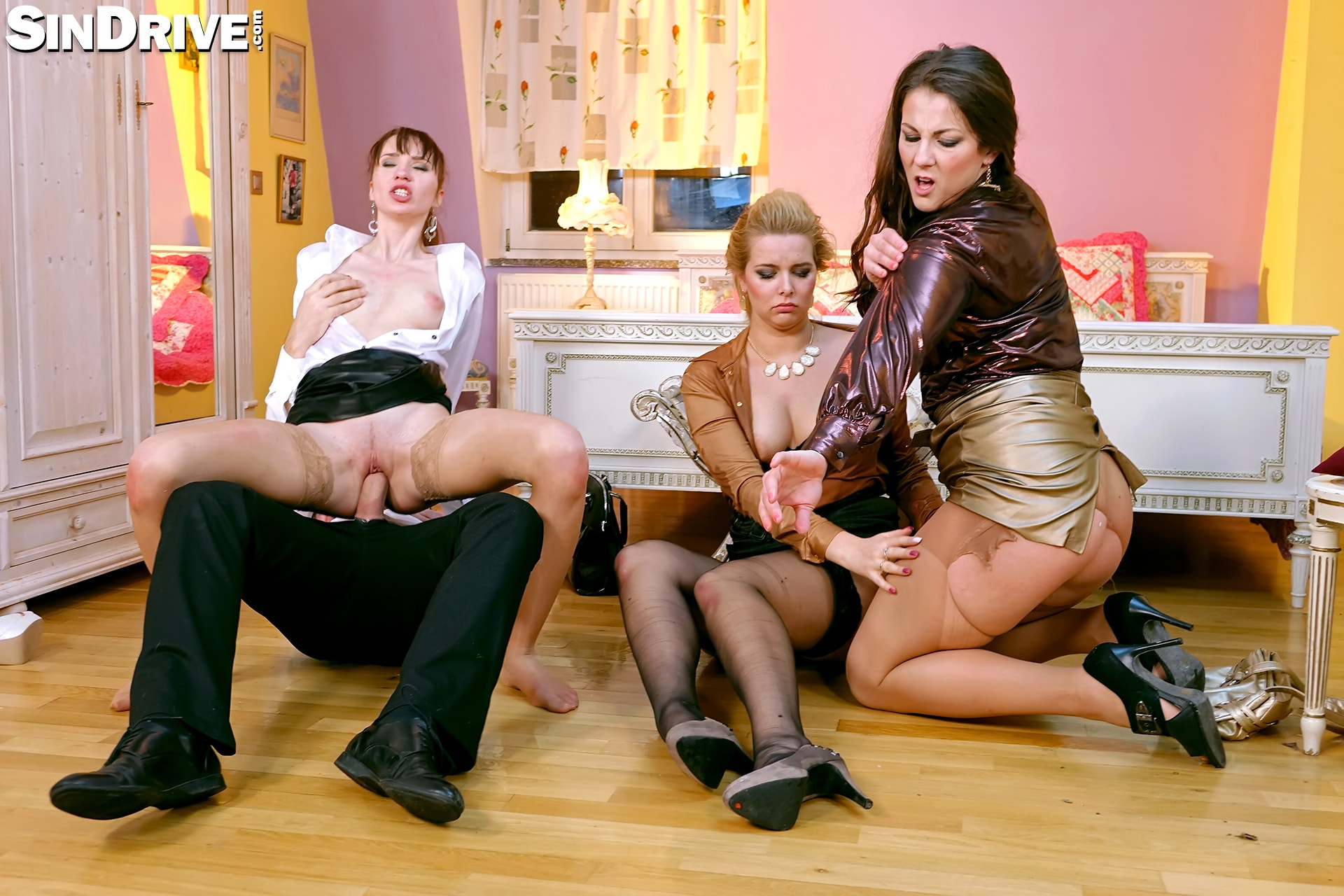 Hot foursome with eurobabes 6