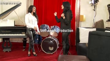Kiki Minaj - Welcome 2 Sindrive, Anissa Kate!!! Leather-Clad Bums Anissa and Kiki In 'Watch Out, We're Glad To Be Mad!'