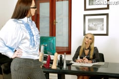 Kira Queen - Business As Usual: Gagging, Deep Throat, Sloppy Blowjob - A Drooling Executive Teaching Success!!! (Thumb 14)