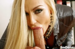 Kira Queen - Business As Usual: Gagging, Deep Throat, Sloppy Blowjob - A Drooling Executive Teaching Success!!! (Thumb 49)