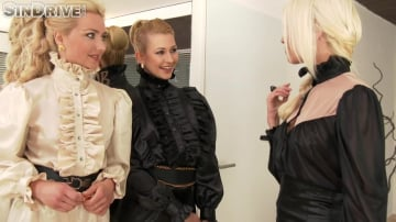 Lena Love - True Blondes.True Beauties.True Beaver Bandits. The Golden Shower Hour: Pissing, Wetting, Lesbo Petting