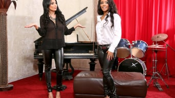 Kiki Minaj in 'Welcome 2 Sindrive, Anissa Kate!!! Leather-Clad Bums Anissa and Kiki In 'Watch Out, We're Glad To Be Mad!''