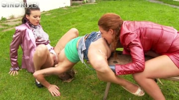 Nicole Vice - Bitch Better Lick My Pussy! 2 Lady Bosses Get Their Piss Freak On and A Casual Chick Is In Danger :-)