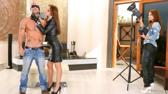 Sophie Lynx in 'Leather Bound Anal Gapes Put The Photoshoot In Its Place'